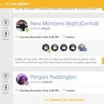 citysocializer etkinlik listesi