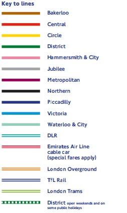 londra metrosu haritası