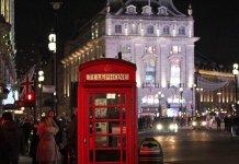 Londra'da Noel